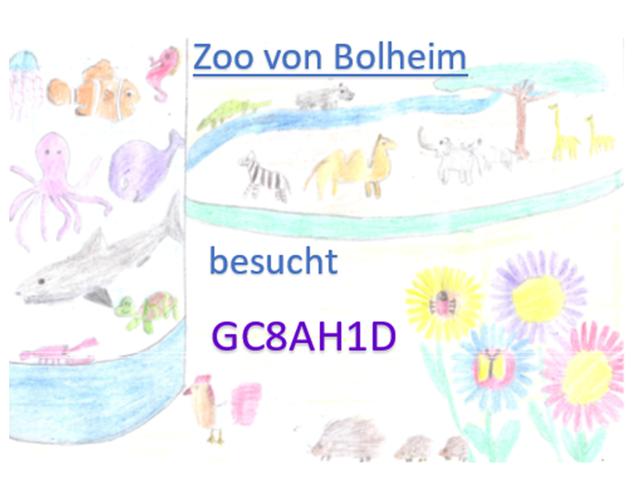 Ich habe den Zoo in Bolheim besucht.