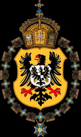 Герб Германской империи с 1871 по 1888 годы