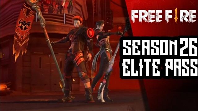 Kode Redeem FF Elite Pass Season 26 Dapatkan Disini Gratis