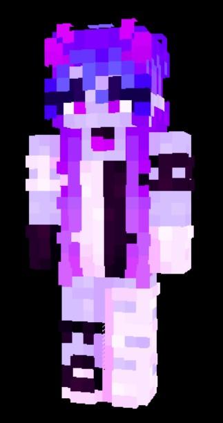 flora // ce Minecraft Skin