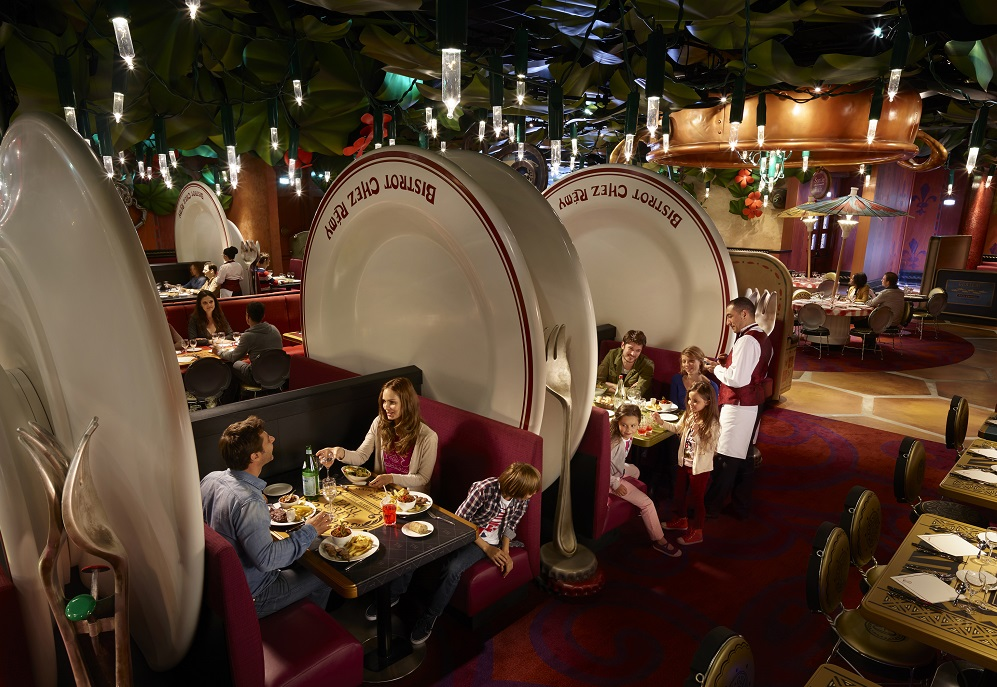Bistrot Chez Remy at Disneyland Paris