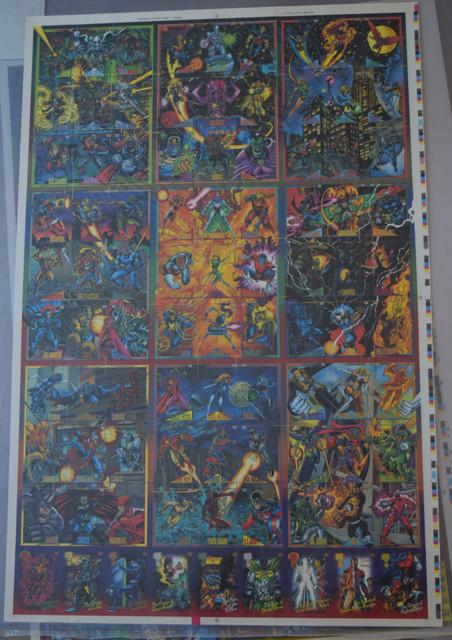 Marvel-Universe-Series-IV-1993-Uncut-Sheets-1