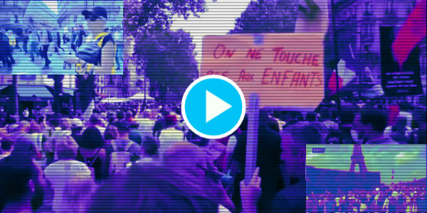 Millions of people throughout France protested for the eighth time in a row against mandatory vaccine passports and bio-medical Tyranny…