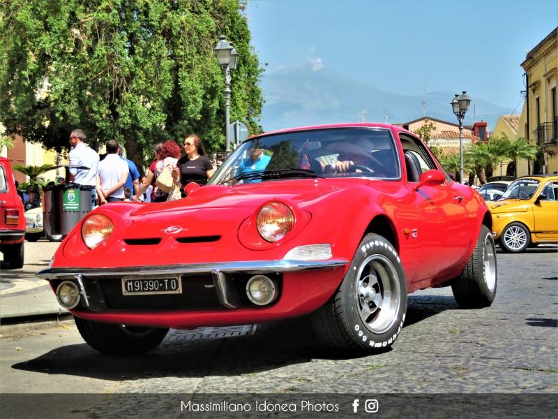 2019 - 9 Giugno - Raduno Auto d'epoca Città di Aci Bonaccorsi Opel-GT-TOM91390-2