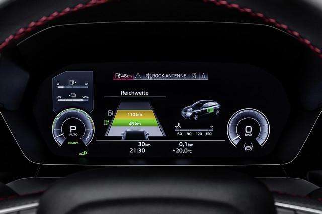 Hybride compacte avec une puissance de 245ch : l'Audi A3 Sportback 45 TFSI e A208948-medium