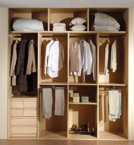 vestidores de armario