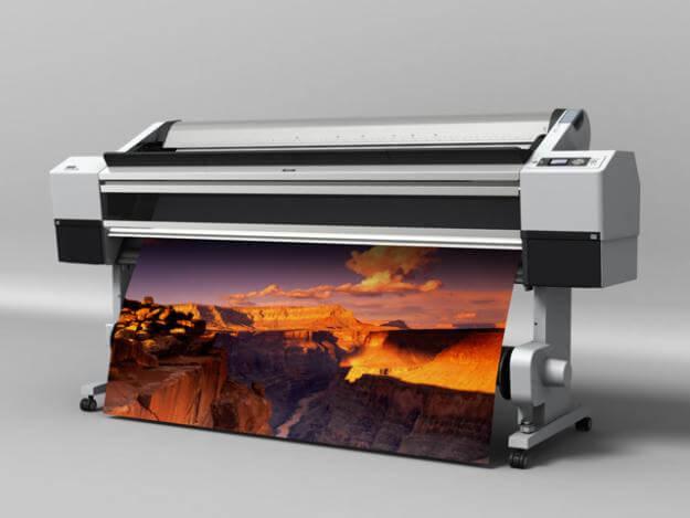 Чем характерна печать широкоформатная?