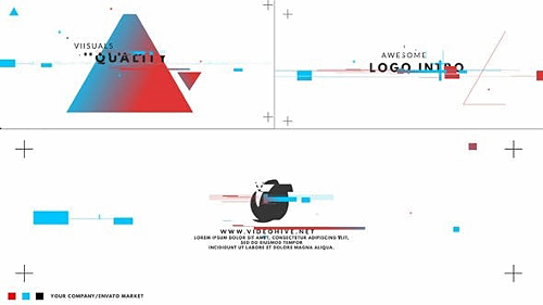 Color Glitch Logo Intro 23780642 - Project for After Effects (Videohive)