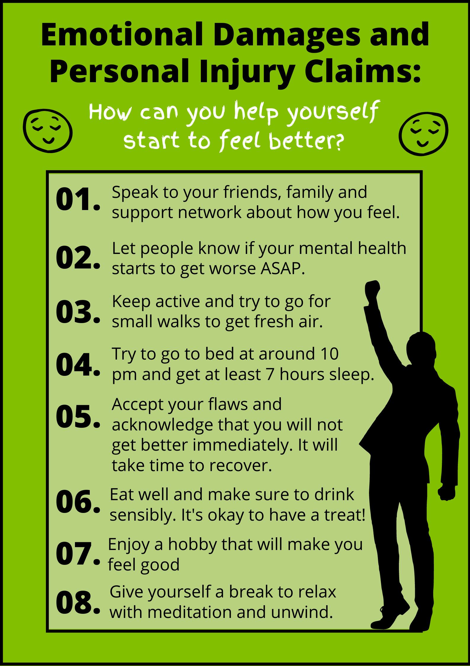 Emotional Damages Poster