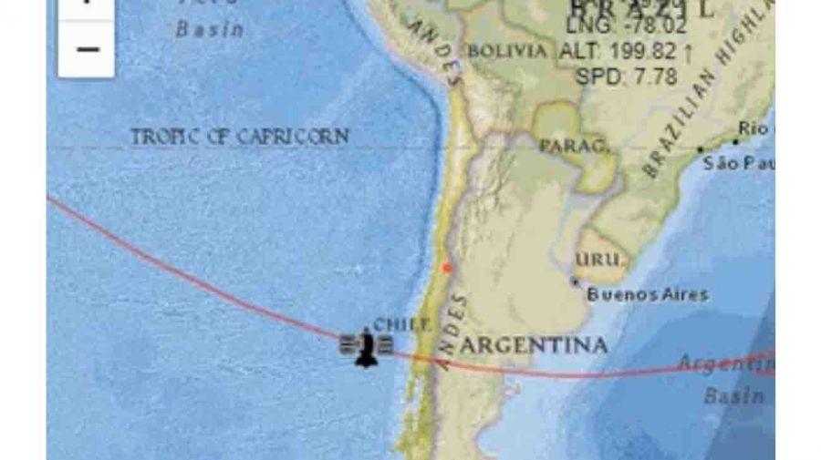 (EN VIVO) El cohete chino fuera de control se aproxima a la Tierra caerìa en la atmosfera el 8 de Mayo : Argentina entre los paìses donde podrìa impactar