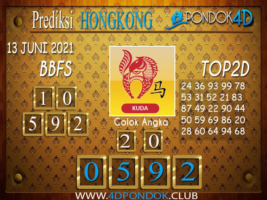 Prediksi Togel HONGKONG PONDOK4D 13 JUNI 2021