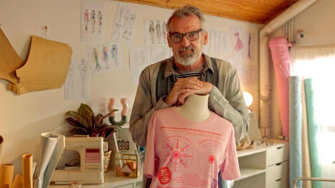 """""""La remera más linda creada especialmente para la concientización del cáncer de mama"""""""