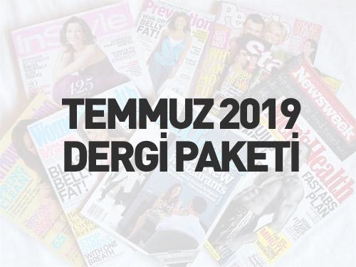 Temmuz 2019 Türkçe Dergi Paketi