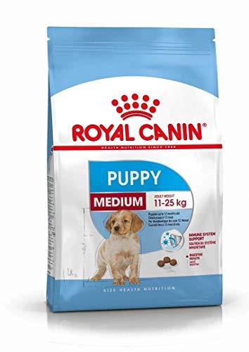 Royal Canin Medium Puppy - Comida para perritos, 15 kg