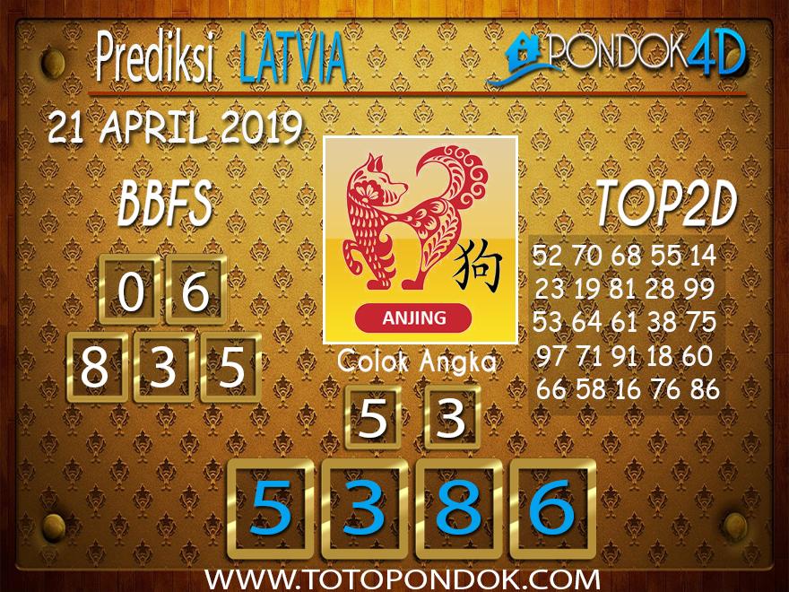 Prediksi Togel LATVIA PONDOK4D 21 APRIL 2019