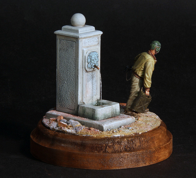Corvée d'eau (WWII tankiste US, Dragon 1/35 WIP) IMG-3400-1