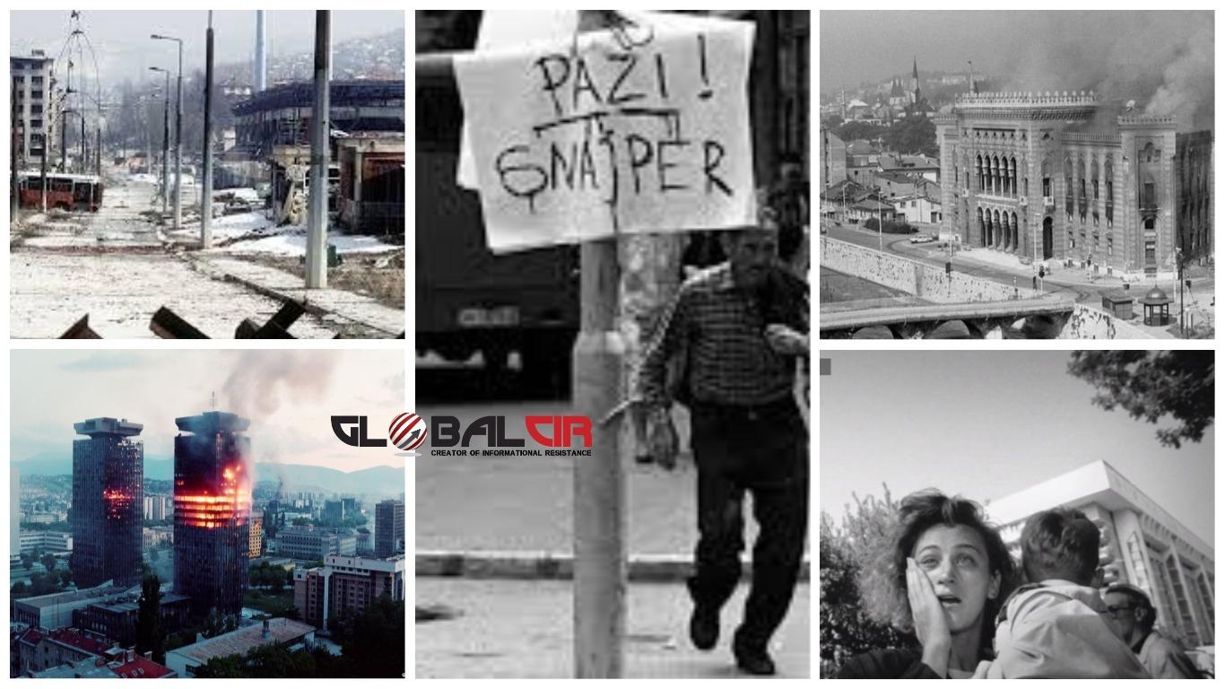 OPSADA SARAJEVA! Jezivi rekord: Dan kada je na glavni grad BiH ispaljeno 3.777 granata!