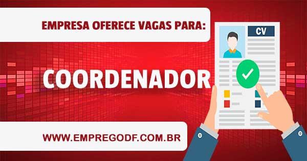 EMPREGO PARA COORDENADOR DE OPERAÇÕES