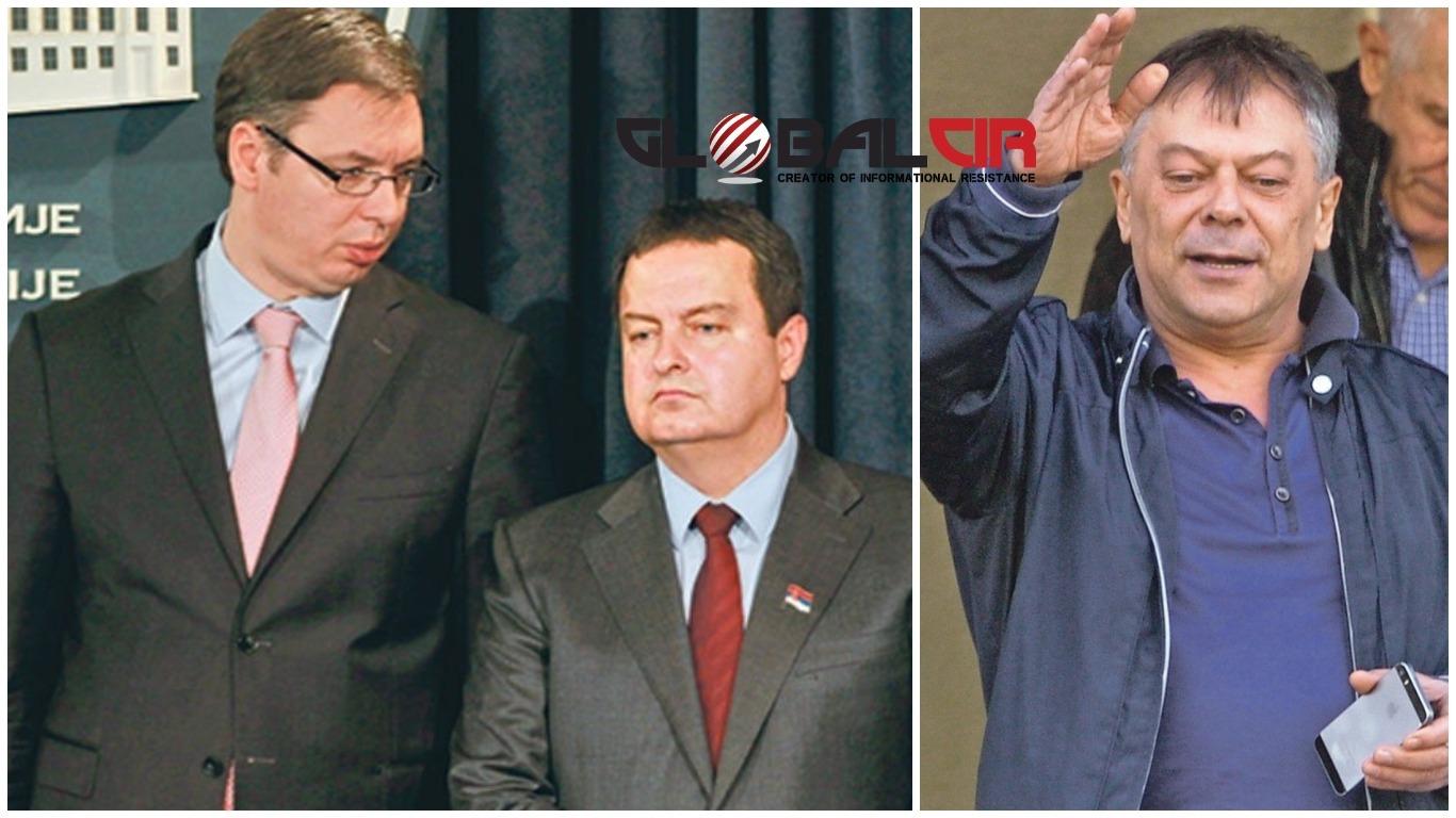 (VIDEO) SVE OČITIJI RASKOL: Dačićev potpredsjednik udario na Vučića, prijeti blokadom autoputa Beograd-Skoplje!