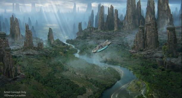 Star Wars Land Black Spire Outpost