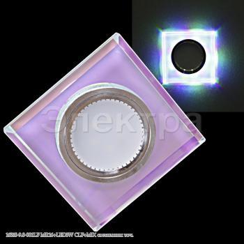 Светильник точечный 16310-9.0-001LF MR16+LED3W CLF+MIX квадратный
