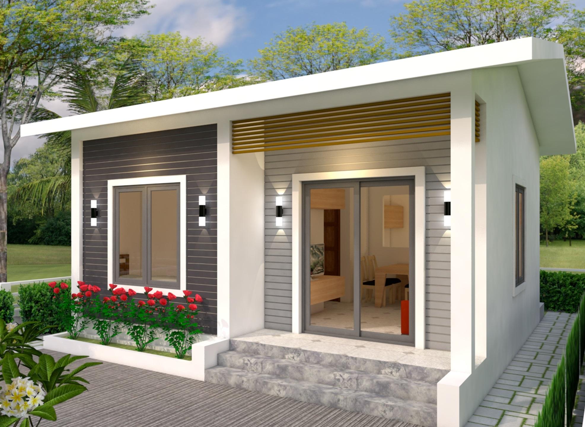 Rumah dengan Lahan 6m x 7m