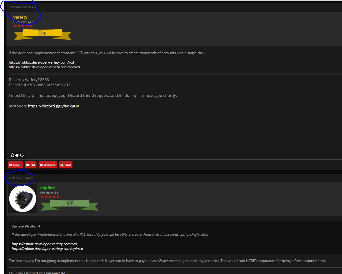 Roblox Leaks Discord Bot | Roblox Generator Download No Survey