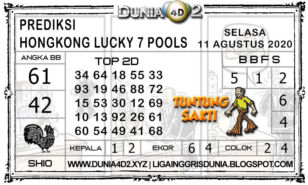 Prediksi Togel HONGKONG LUCKY7 DUNIA4D2 11 AGUSTUS 2020