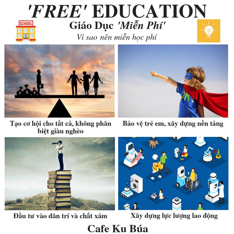 FREE EDUCATION – GIÁO DỤC MIỄN PHÍ