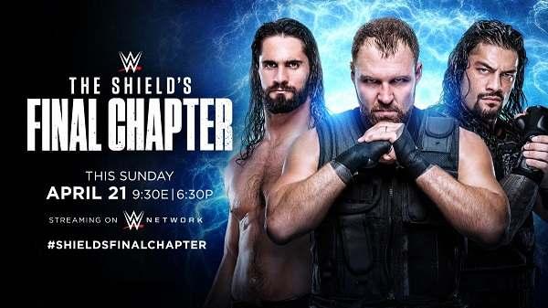 Watch WWE The Shields Final Chapter 4/21/19