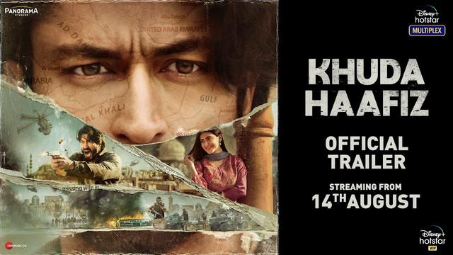 Khuda Haafiz (2020) Hindi Official Trailer Ft. Vidyut Jammwal & Shivaleeka Oberoi HD