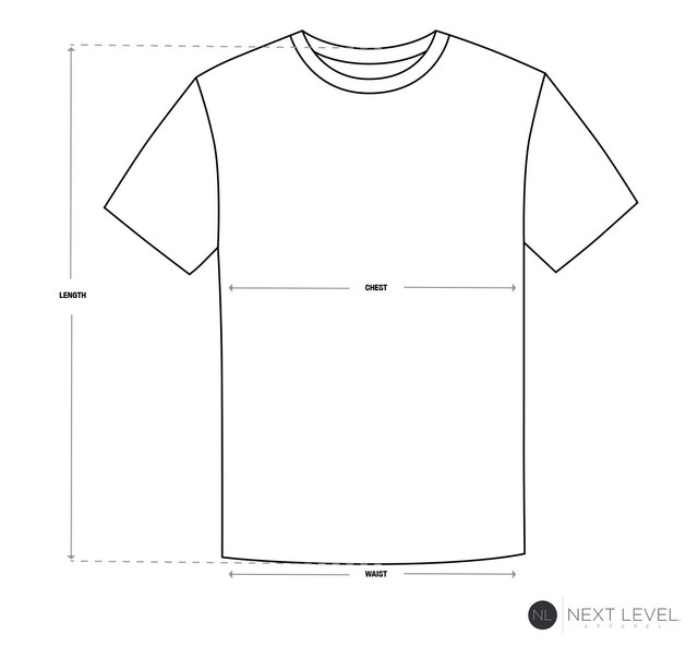 Size-Chart-Tee-Next-Level-Apparel