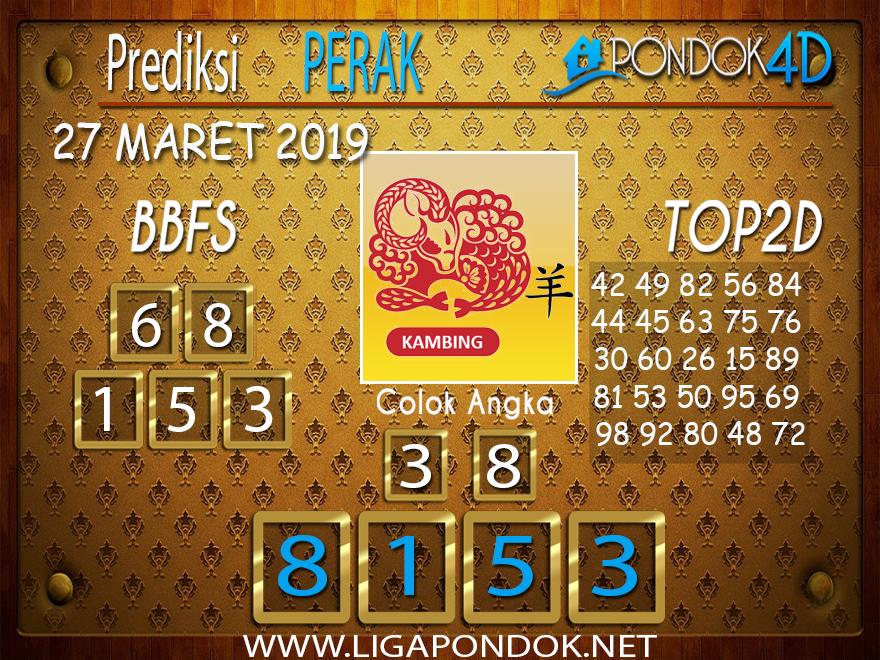 Prediksi Togel  PERAK  PONDOK4D 27 MARET 2019