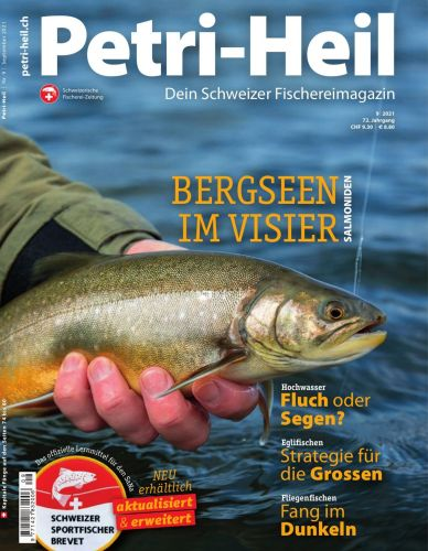 Cover: Petri Heil Magazin No 09 September 2021