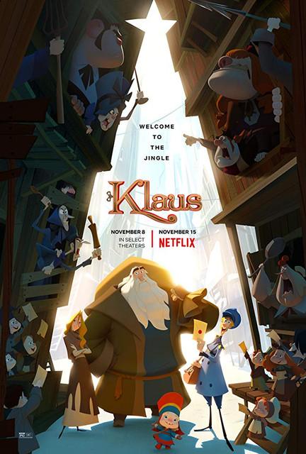 Смотреть Клаус / Klaus Онлайн бесплатно - Молодого почтальона отправляют на работу в заснеженную деревушку с крайне недружелюбными...