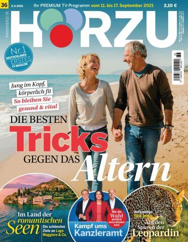 Cover: Hörzu Magazin No 36 vom 03  September 2021