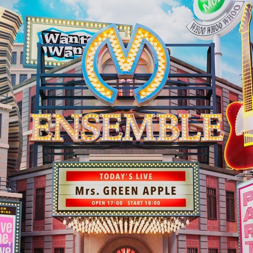 [Album] Mrs. GREEN APPLE – ENSEMBLE