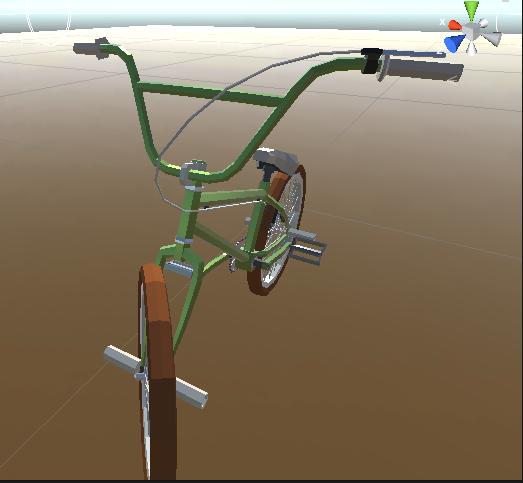 [RESOLVIDO] Bicicleta no Unity 01