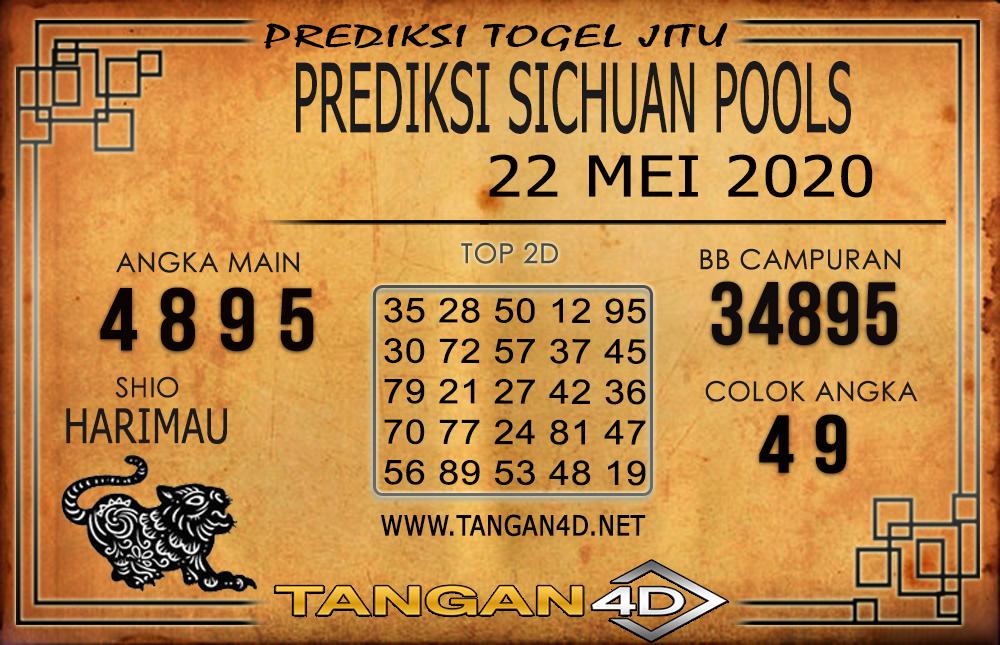 PREDIKSI TOGEL SICHUAN TANGAN4D 22 MEI 2020