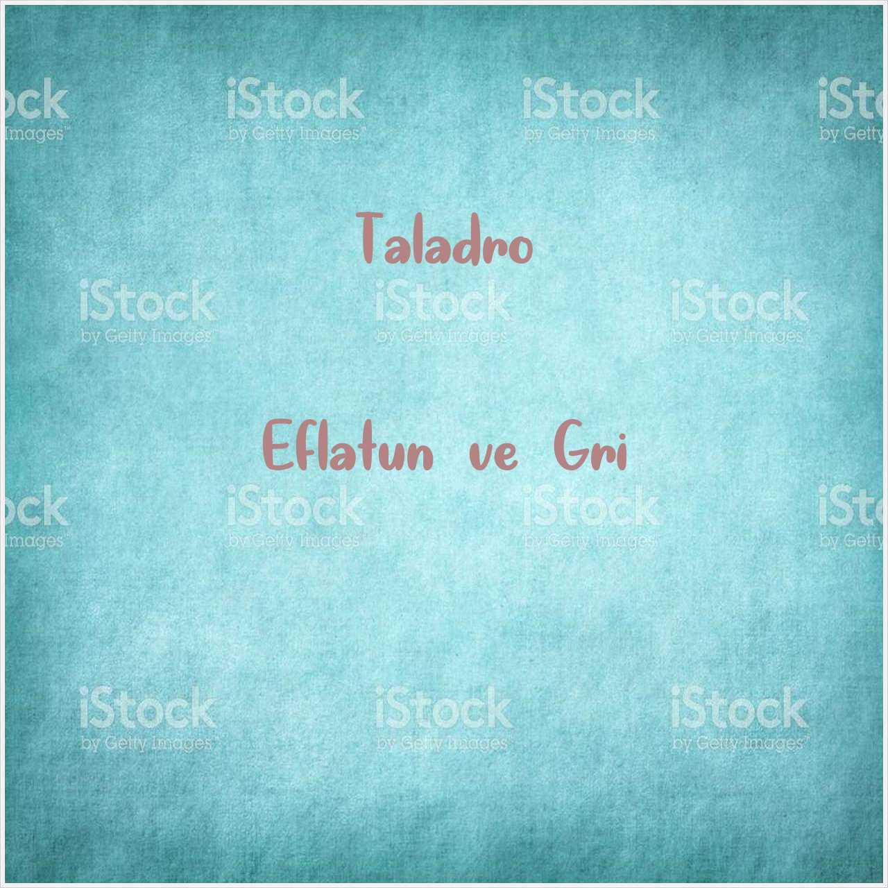 دانلود آهنگ جدید Taladro به نام Eflatun ve Gri