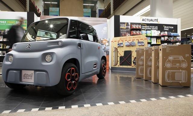 AMI - 100% Ëlectric Arrive Dans Le Réseau Citroën Ami-100-Alectric-Fnac-04