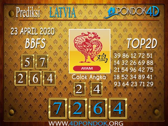 Prediksi Togel LATVIA POOLS PONDOK4D 23 APRIL 2020