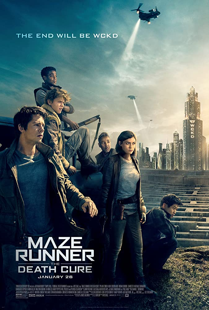 Maze Runner: The Death Cure 2018 Hindi ORG Dual Audio 720p BluRay ESubs 1.2GB | 500MB Download