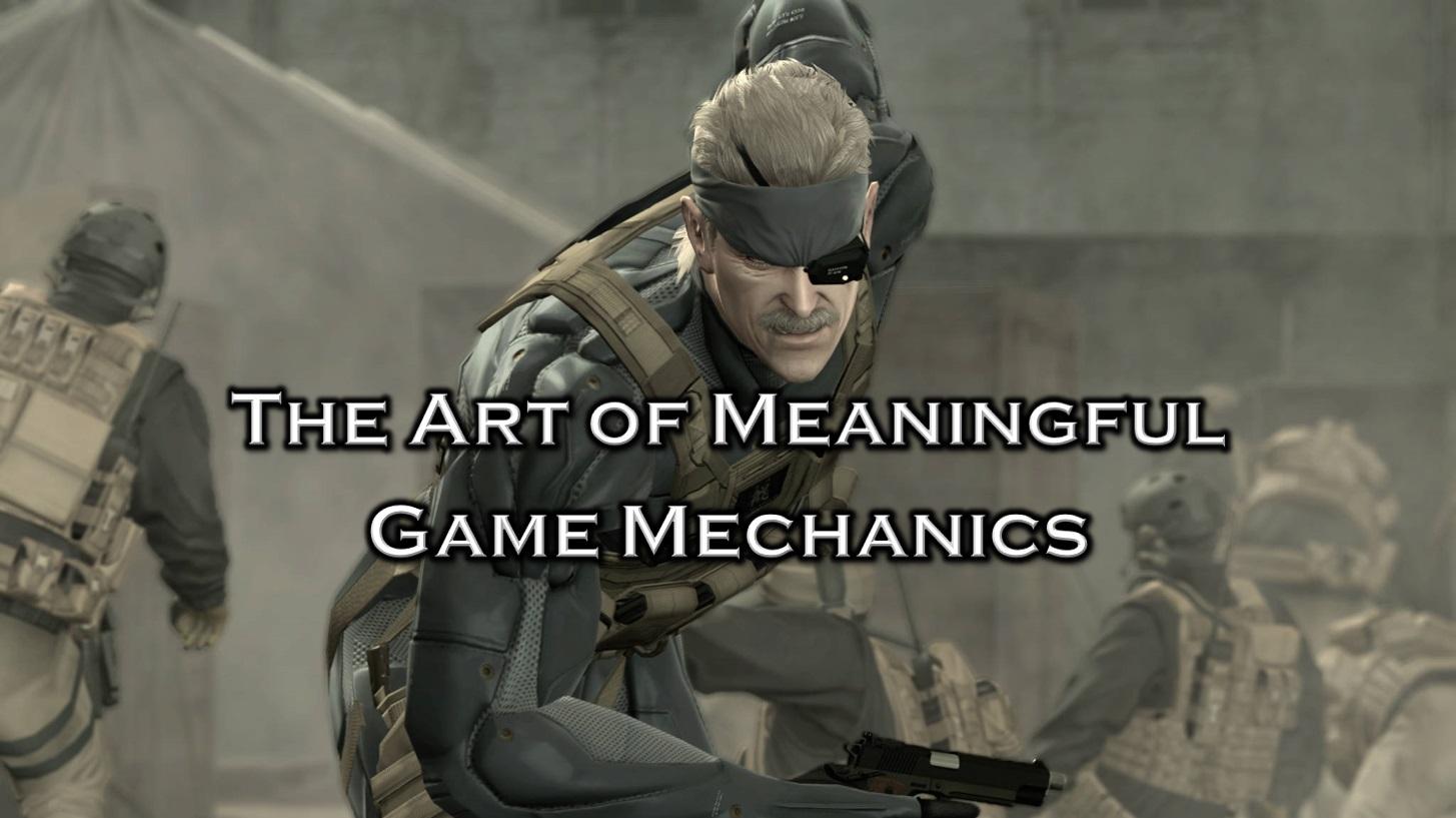 Hideo Kojima and The Art of Meaningful Game Mechanics Icon