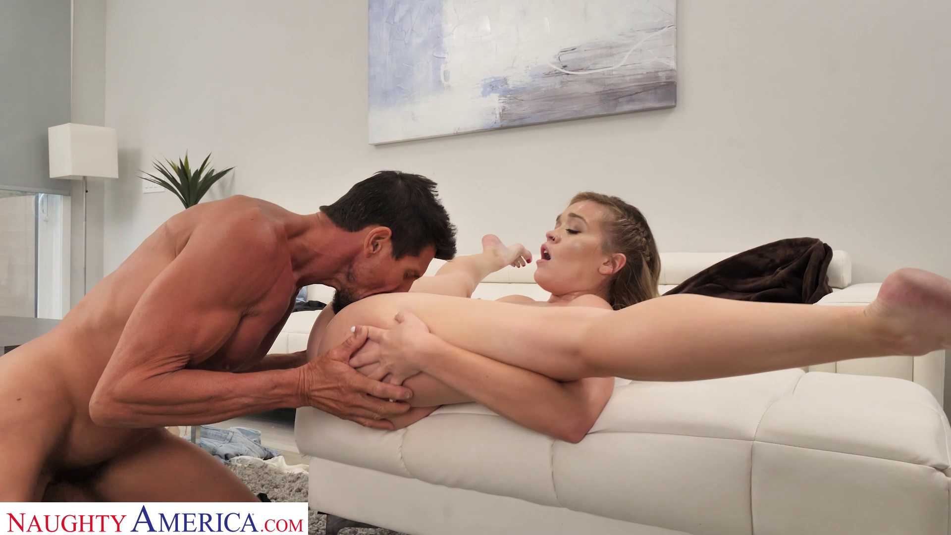 Katie Kush Bounces Ass On Neighbor While His Wife Is Out