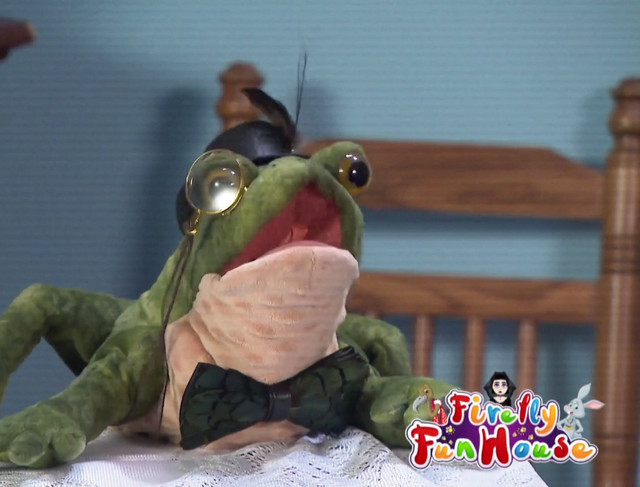 Friendship Frog Firefly Funhouse