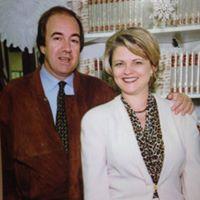 Nando Parrado and Gail Davis