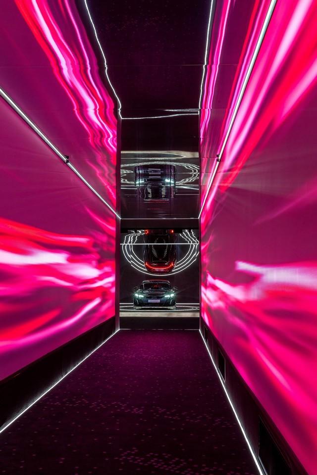 L'Audi A6 e-tron concept à la Milan Design Week A216462-medium