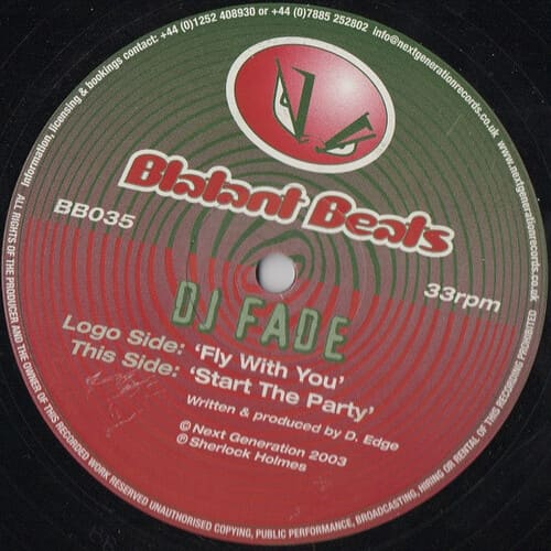 Download DJ Fade - Fly With You / Start The Party mp3