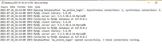 connect-server-database-log